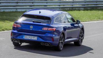 Volkswagen Arteon R Shooting Brake op de Nordschleife