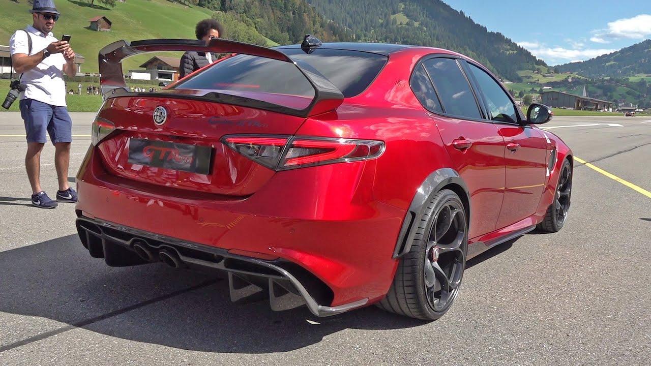 Alfa Romeo Giulia GTAm voor het eerst in actie