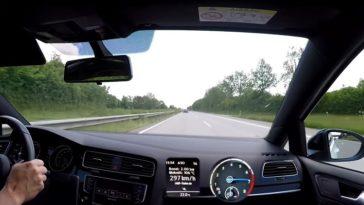 Audi RS6 probeert Golf R HGP los te rijden