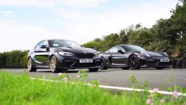 BMW M2 CS vs Porsche Cayman GT4