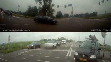 Bestuurder slaat ruit VW Caddy in na verkeersruzie