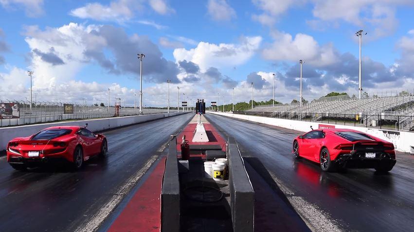 Ferrari F8 Tributo vs Lamborghini Huracan EVO