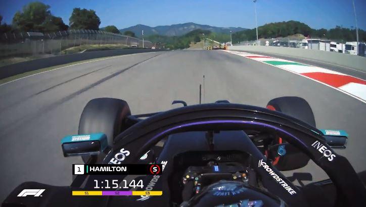 Formule 1 2020 - Mugello Lap Record