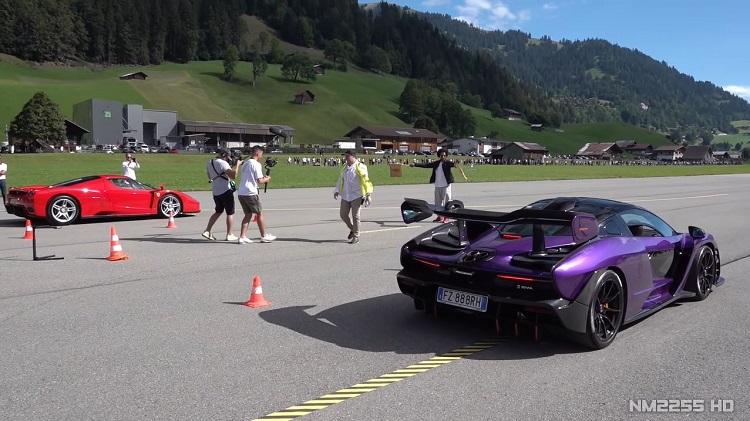 Hypercars racen op vliegveld tijdens SOC 2020