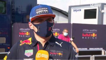 Interview met Max Verstappen na uitvalbeurt in Monza