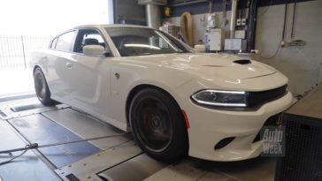Op de Rollenbank - Dodge Charger Hellcat