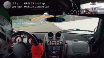 Pagani Huayra BC Roadster pakt ronderecord Spa-Francorchamps