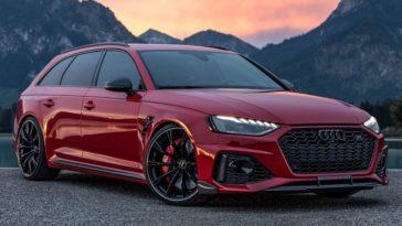 2021 Audi RS4-S Avant van ABT