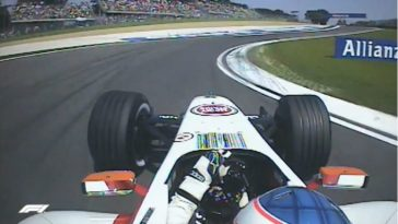 Button's ronderecord op Imola