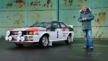 Clarkson's favoriete Rally Battle - 1983 Audi Quattro VS. Lancia 037