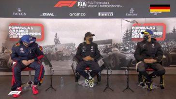 Daniel Ricciardo had het koud tijdens de Eifel GP
