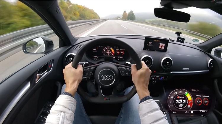 HGP Audi RS3 Sportback haalt 322 kmh