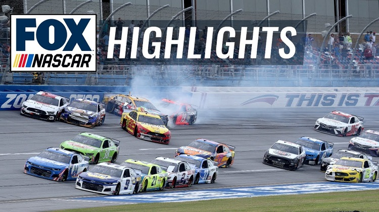 NASCAR 2020 - Talladega Play-offs Race Highlights