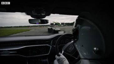 Onboard bij The Stig in de Audi RS6 C8