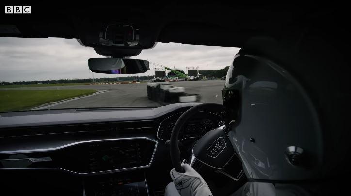 Onboard bij The Stig in de Audi RS6 C8