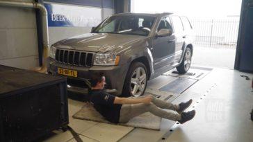 Op de Rollenbank - Jeep Grand Cherokee SRT-8