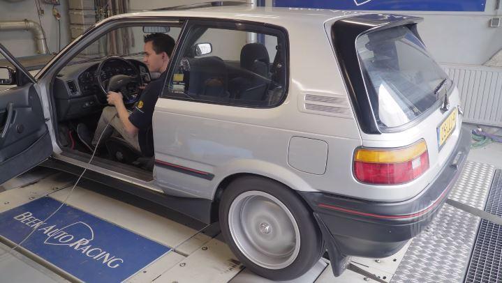 Op de Rollenbank - Toyota Corolla 1.6 GTi-16