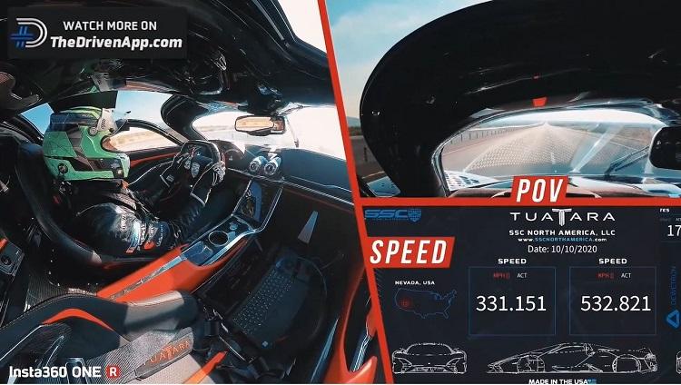 SSC Tuatara is de snelste straatauto ter wereld met 532 kmh