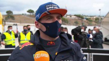 Verstappen na GP Portugal