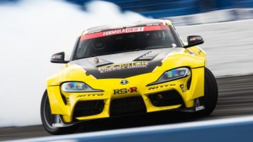 2020 Toyota Supra heeft eerste overwinning behaald in Formula Drift