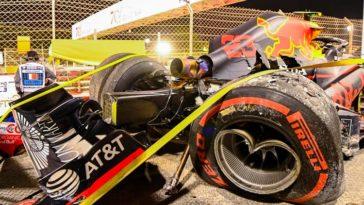 Alexander Albon schrijft RB16 af in FP2 Bahrein
