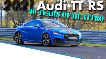 Audi TT RS 40 Years Edition