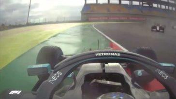 Bottas spinde maar liefst 6x in Turkse Grand Prix