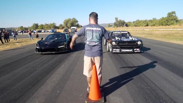 Ford Mustang Hoonicorn vs McLaren Senna