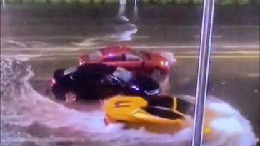 Lamborghini Huracán Spyder is niet bang voor een beetje water