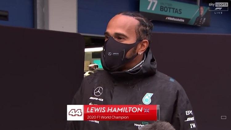 Lewis Hamilton blikt terug op seizoen en 7e titel