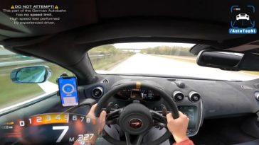 McLaren 600LT haalt 327 kmh op Autobahn