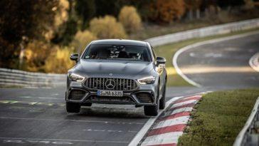 Mercedes-AMG GT 63 S herovert Nürburgring record