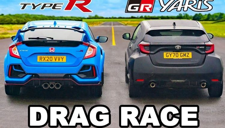 Nieuwe Toyota GR Yaris vs Honda Civic Type R