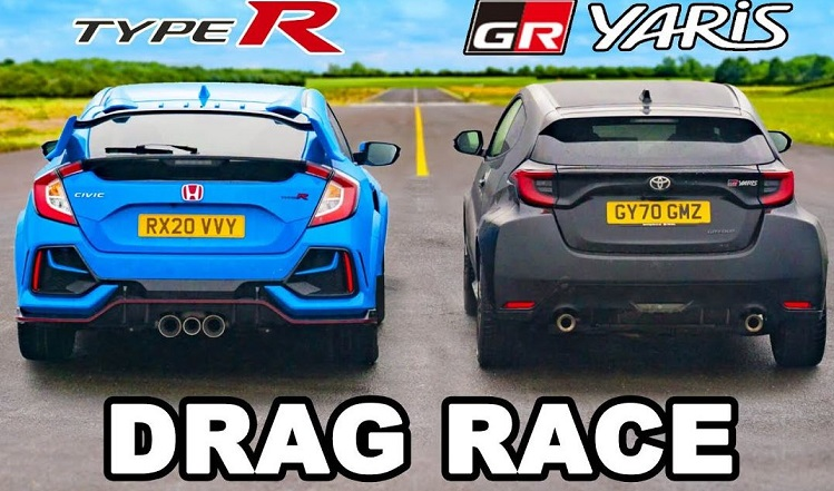 Nieuwe Toyota GR Yaris vs Honda Civic Type R