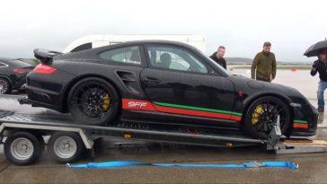 Porsche 997 Turbo S van 9FF haalt 387 kmh