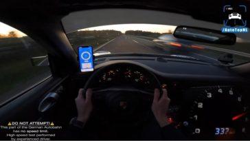 Porsche 9ff GT3 GTurbo R haalt met gemak 340
