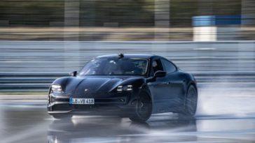 Porsche Taycan record langste elektrische drift