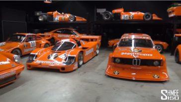 Prachtige collectie van Jägermeister raceauto's