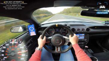 Shelby Mustangt GT350 Topsnelheid