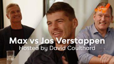 openhartig gesprek met Jos & Max Verstappen