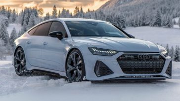 2020 Audi RS7 in Winter Wonderland