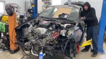 Audi S4 B5 met V10-motor