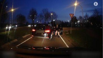 Boze Audi-bestuurder gaat verhaal halen