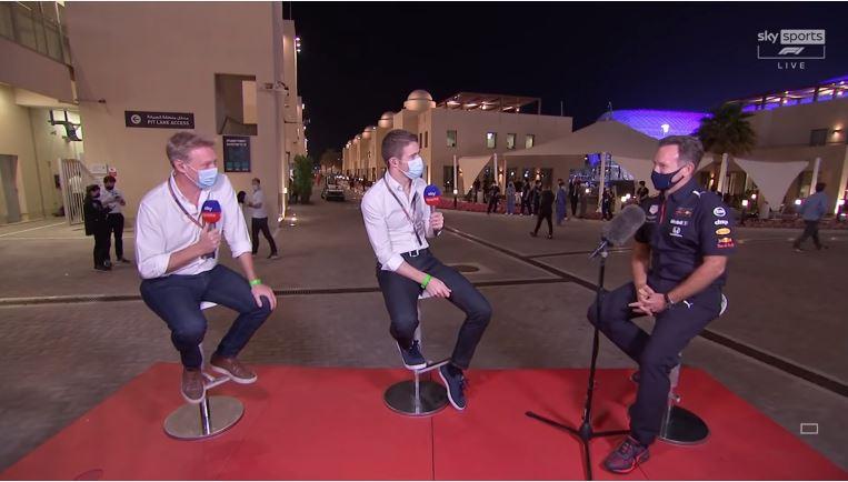 Christian Horner over de overwinning van Verstappen