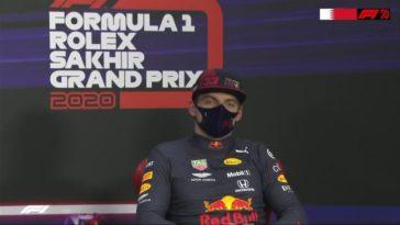 Max Verstappen neemt het op voor Lewis Hamilton