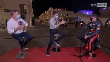 Max Verstappen over zijn pole lap bij Sky Sports