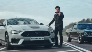 Richard Hammond test de nieuwe Ford Mustang Mach 1