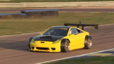 Toyota Celica Silhouette met Ferrari V8