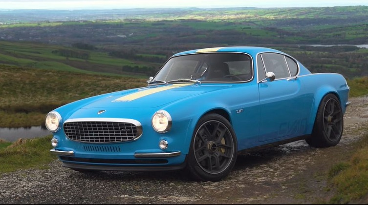 Volvo P1800 Cyan Racing review