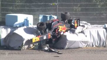 Zware crash in Super Formula op Suzuka